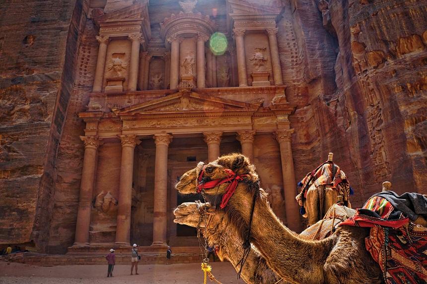 Petra in Jordanie