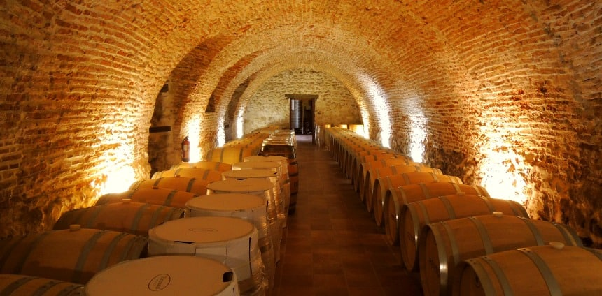 De wijnen van Matarromero - de Rento wijnen kosten €30 per fles.