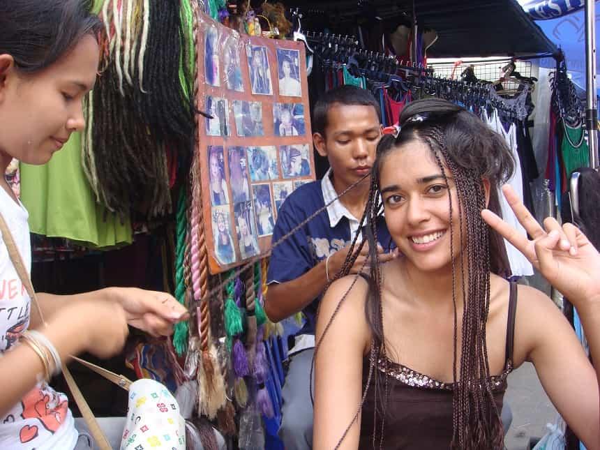 kapper in Thailand