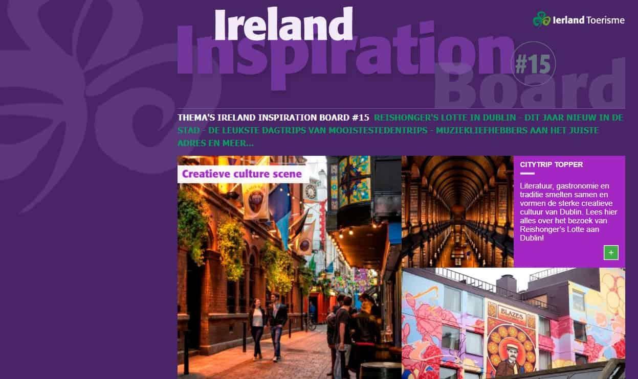 Ierland Inspiration Board: ontdek bruisend Dublin!
