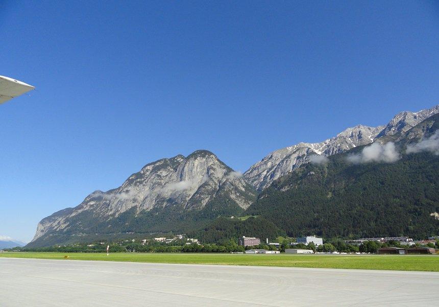 Luchthaven Innsbruck, Oostenrijk