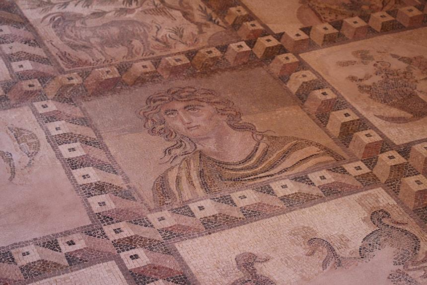 mozaïekvloer Dionysos