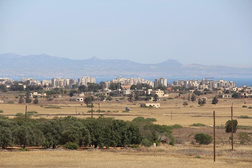 Noorden: bezet gebied Cyprus