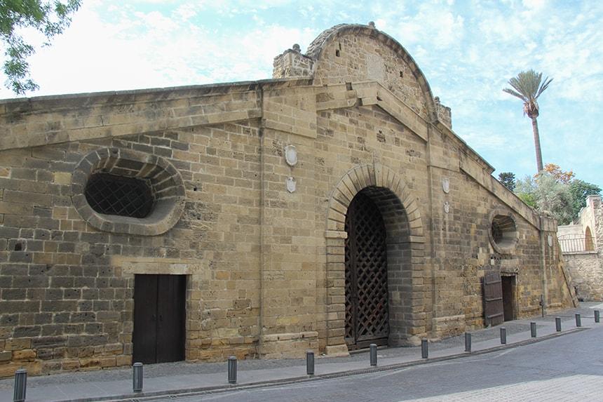 De poort van Famagusta in Lefkosia (Nicosia)