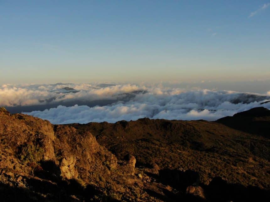Cerro Chirripó wolken
