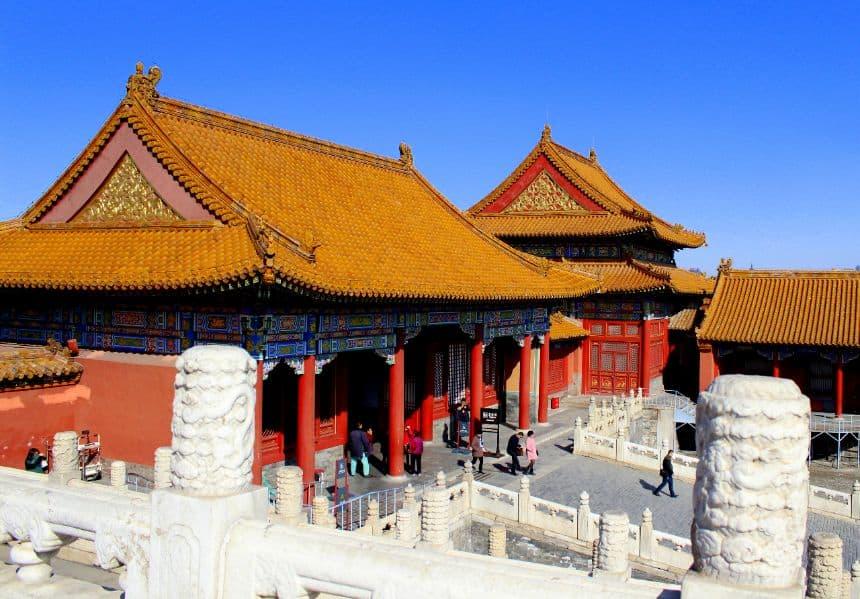 Beijing De verboden stad