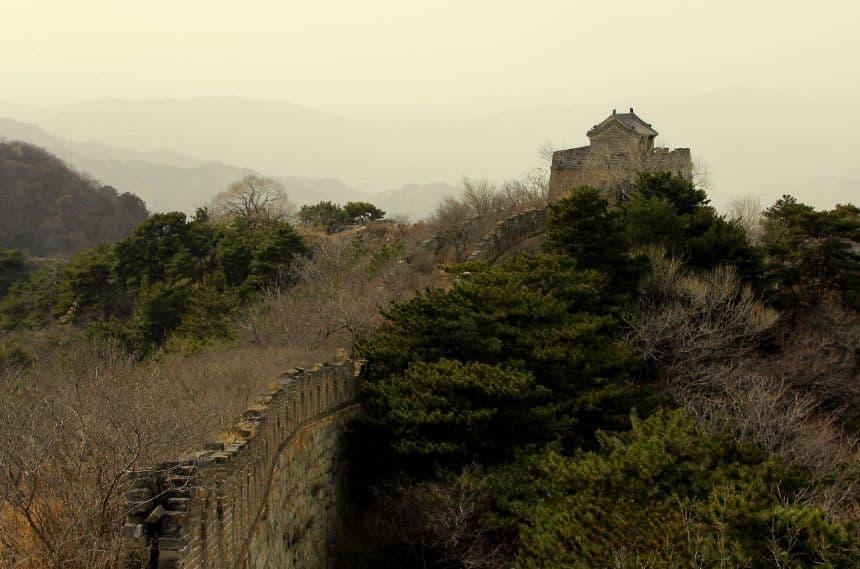 Beijing: ongerenoveerde Chinese Muur