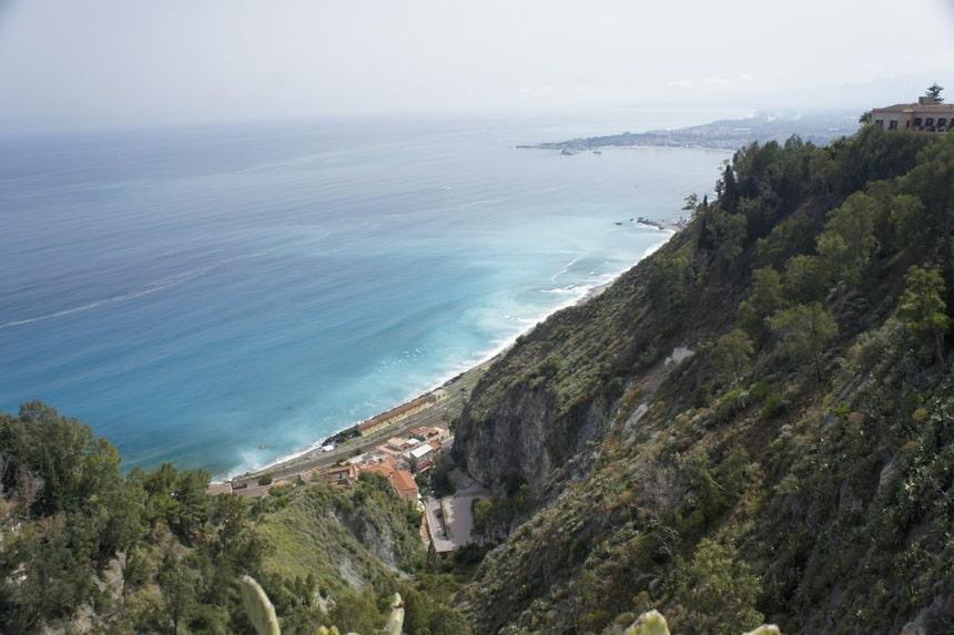Kustlijn Taormina