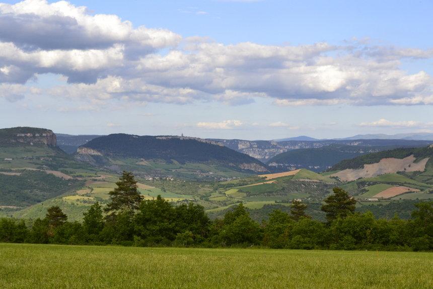 Uitzicht Aveyron