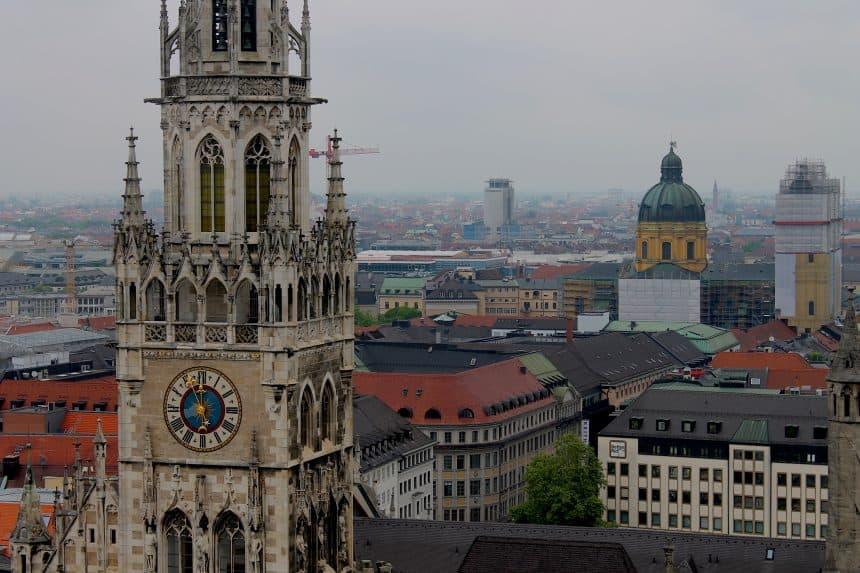 Uitzicht vanaf de Peterskirche