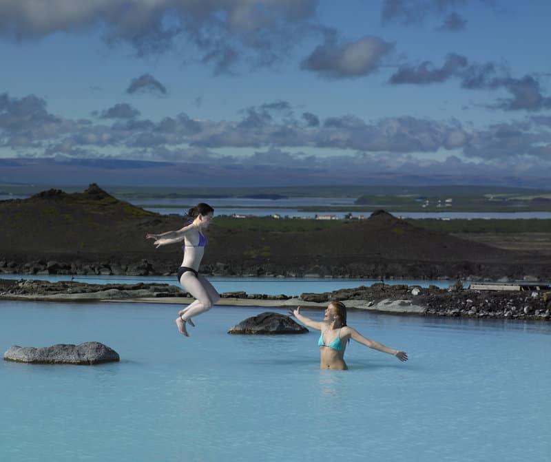 Lake Myvatn IJsland