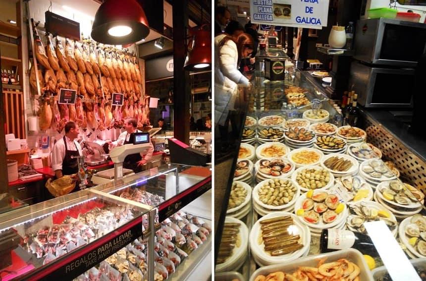 Mercado SanMiguel in Madrid