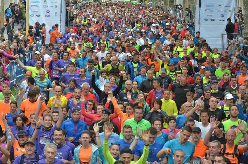La course du Viaduc de Millau