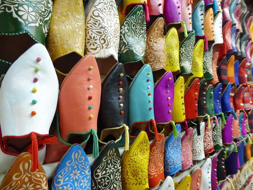 slippers marrakesh