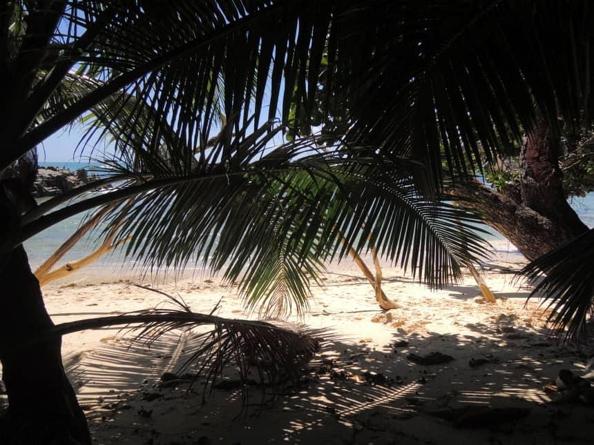 Privé-plekjes genoeg op de Seychellen.