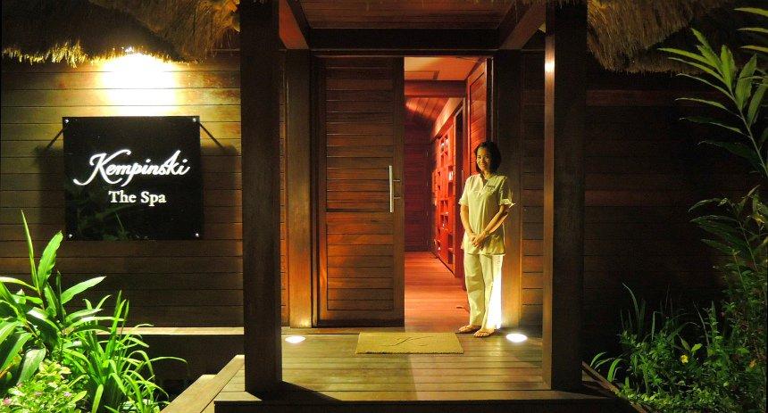 De spa van Kempinsky Resort & Spa op het eiland Mahe.