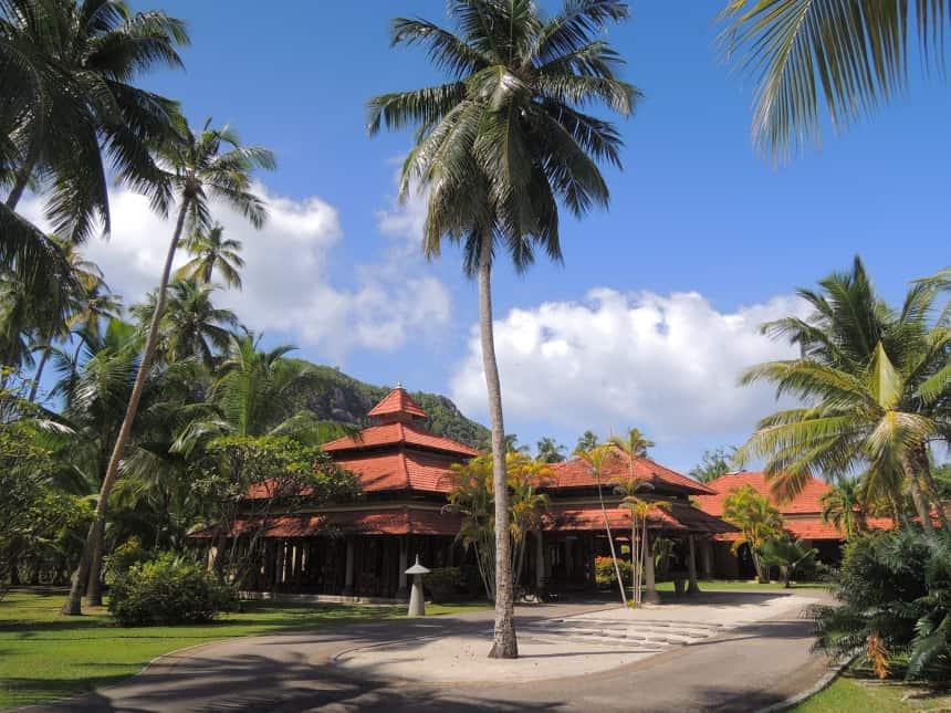 De spa van St. Anne Resort & Spa op het eiland Sainte Anne.