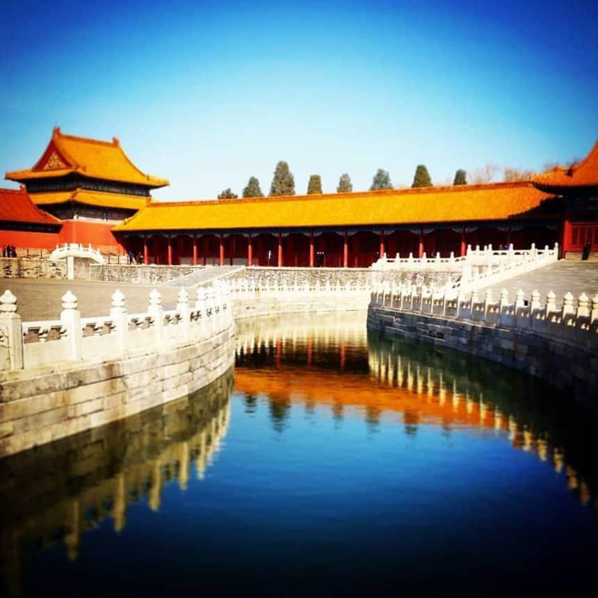 Beijing; de verboden stad