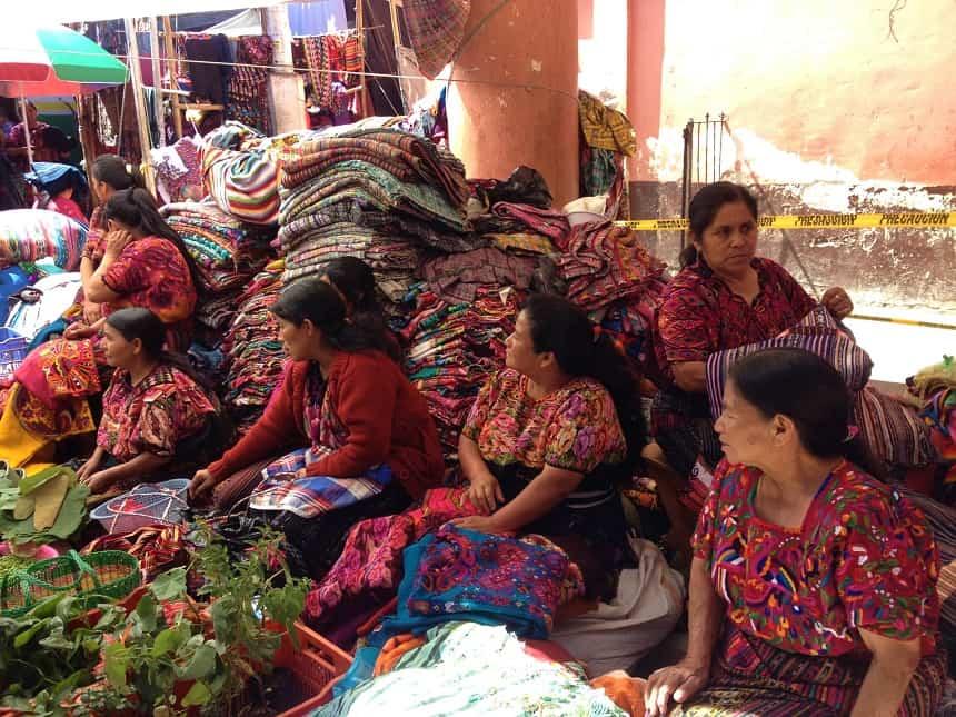 grootste markt Chichicastenango