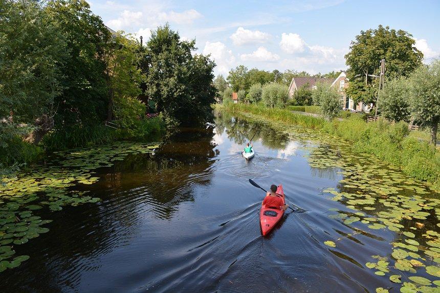 kanoen in Nederland
