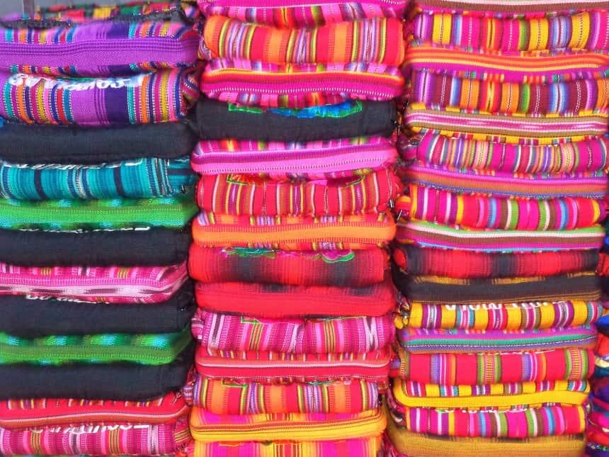 kleurrijke markt chichicastenango