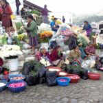 De kleurrijke markt van Chichicastenango