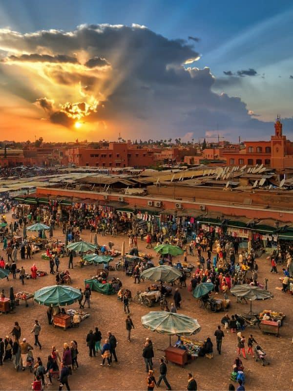 marokko marrakech