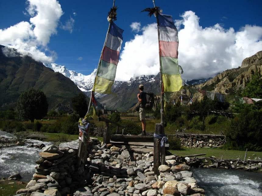 Martijn in Nepal
