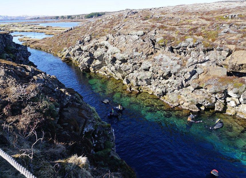 Zet deze ervaring maar op je bucketlist: snorkelen tussen twee continenten!