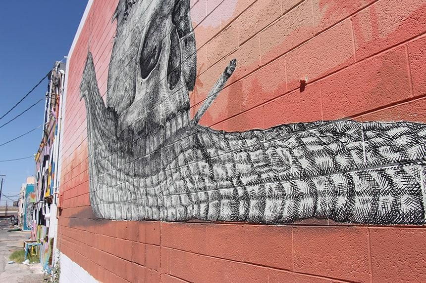 streetart downtown Las Vegas