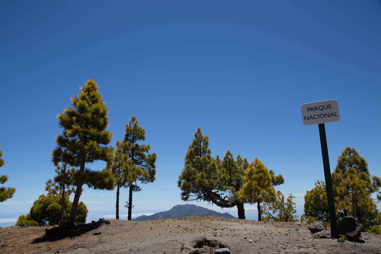 kraterwand Nationaal Park Caldera de Taburiente
