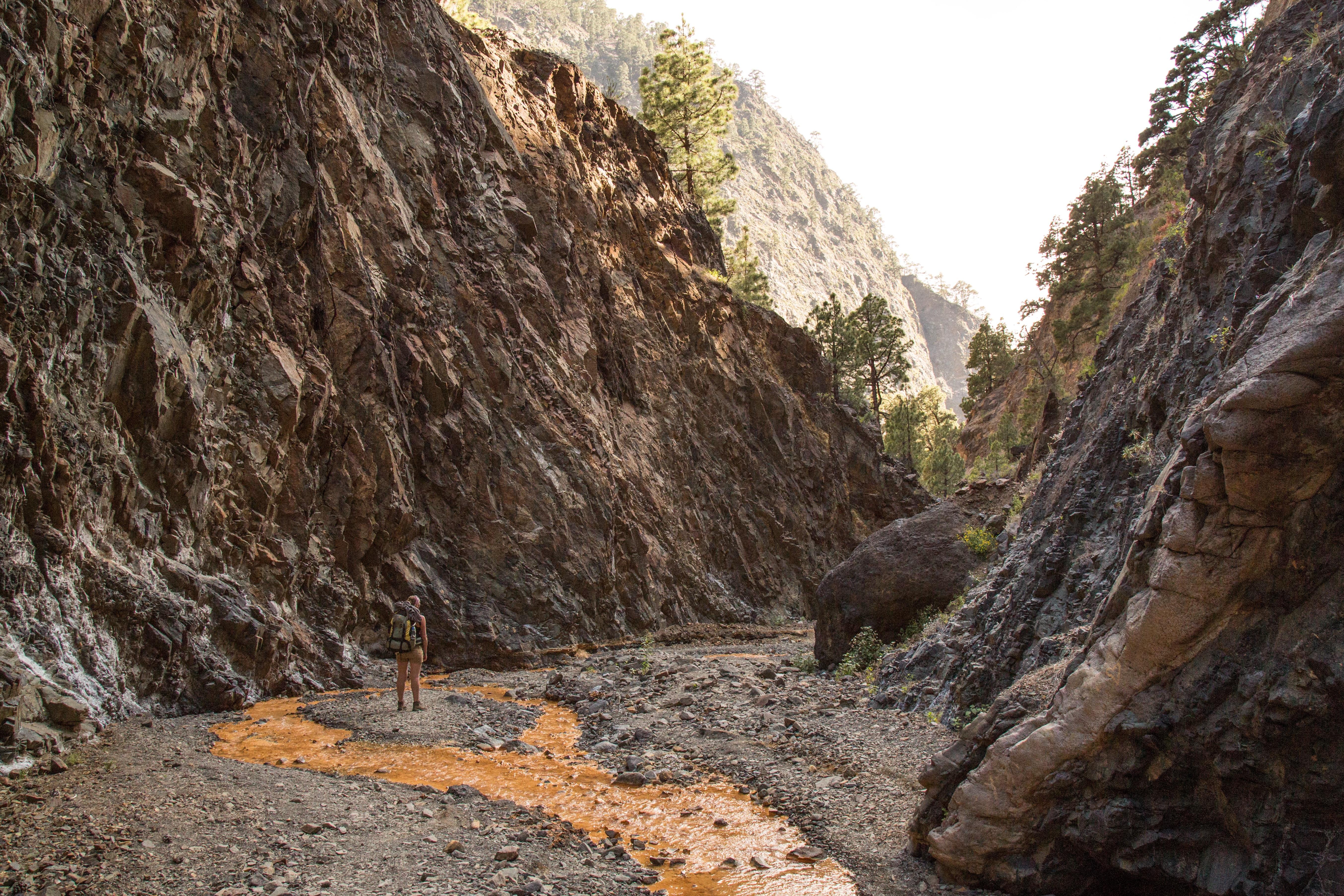 kraterbodem Nationaal Park Caldera de Taburiente
