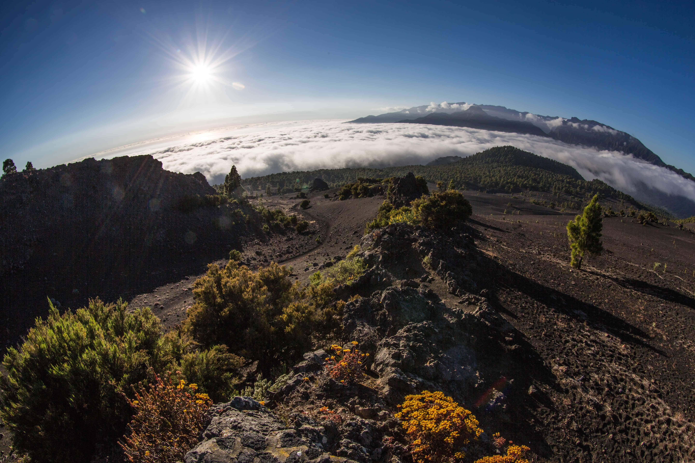 vulkaantoppen Cumbra Veja