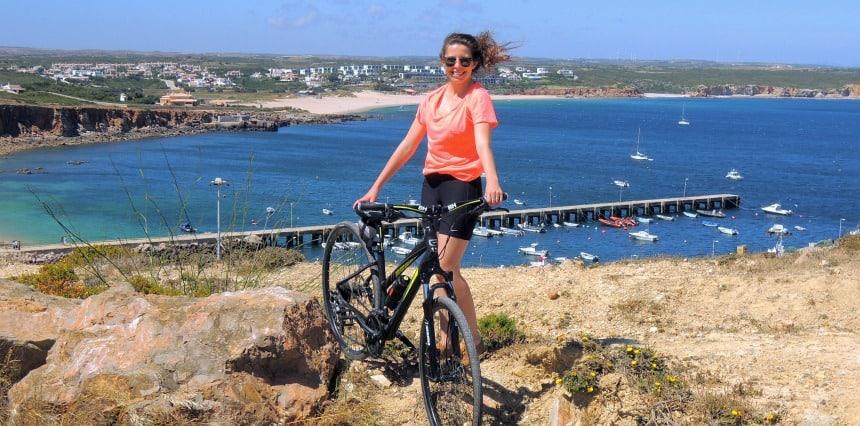 Mountainbiken op het meest Zuid-Westelijke puntje van Europa.