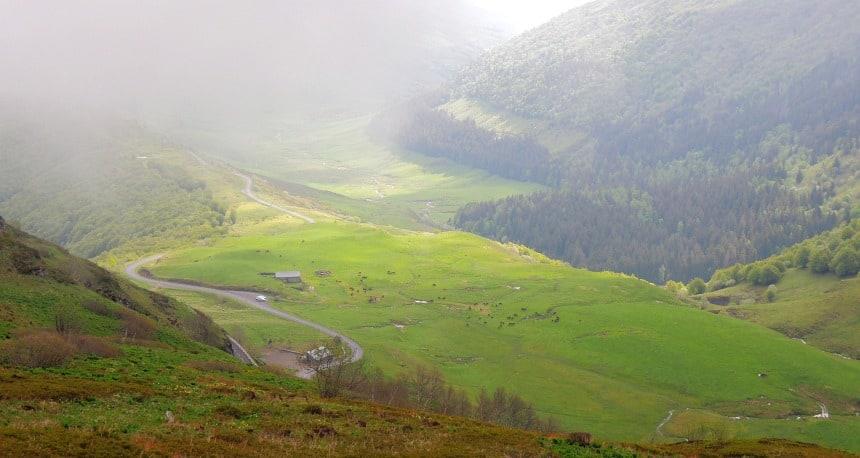 De Auvergne is prachtig. Ruig en lieflijk tegelijk.