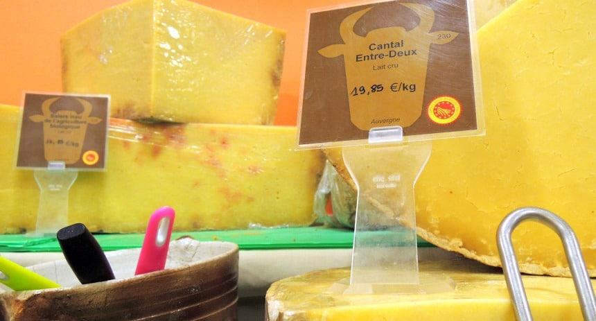 De typische Cantal kaas. Uit de Cantal regio natuurlijk.