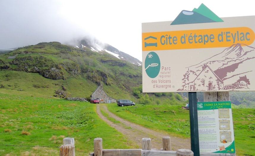 Gites zijn overal. Hier in de bergen bij de Puy Mary.