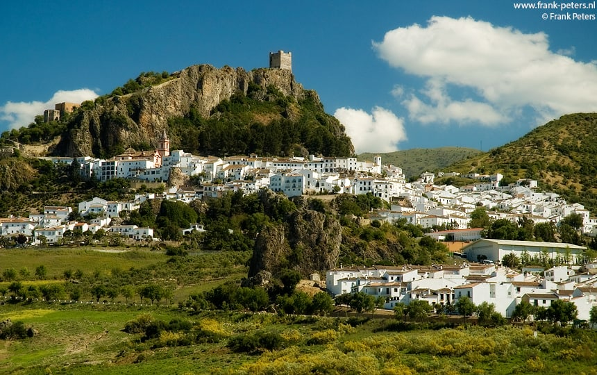 Zahara, Andalusie, Spanje
