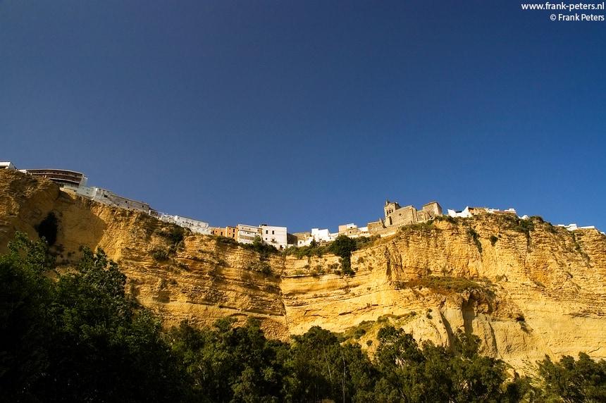 Leven langs de Afgrond, Arcos de la Frontera, Andalusie, Spanje