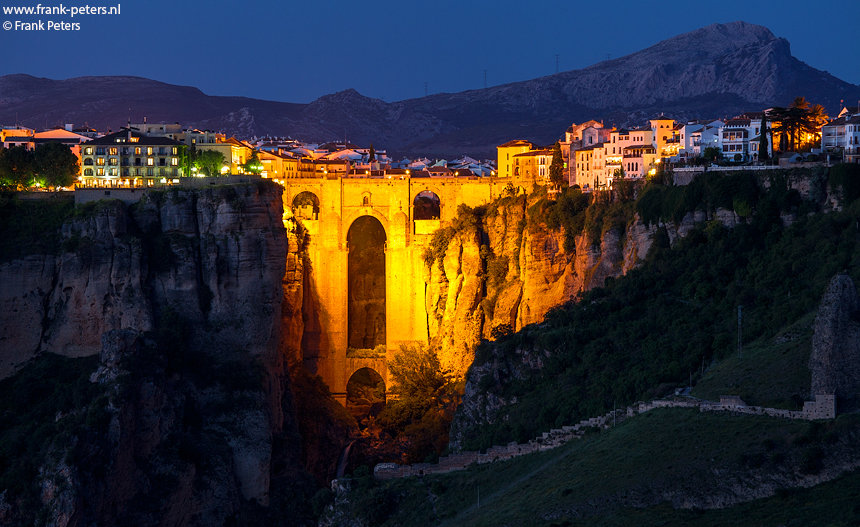 Puente Nuevo, Ronda, Andalusie
