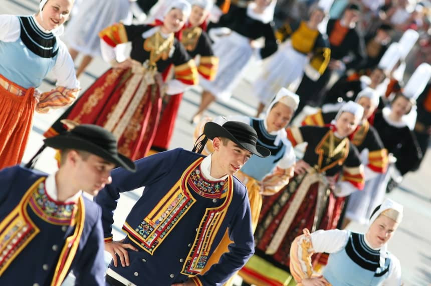 Festival Interceltique in Lorient.