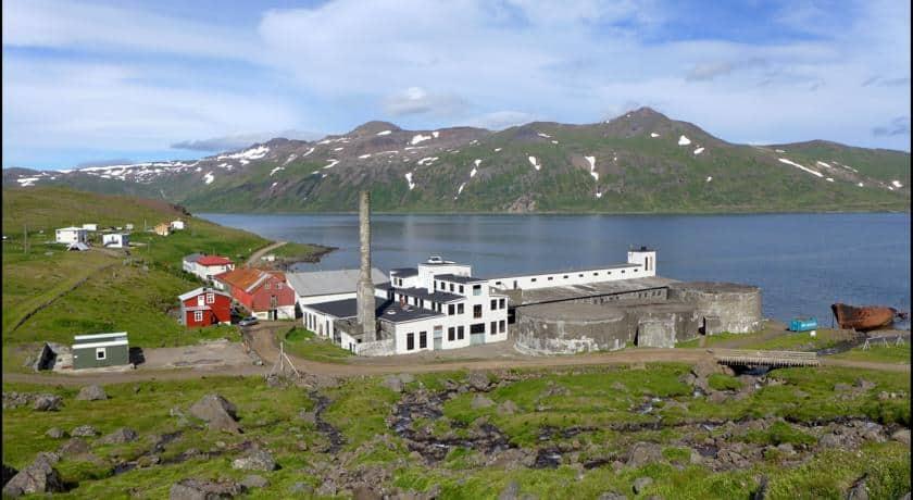Hótel Djúpavík IJsland