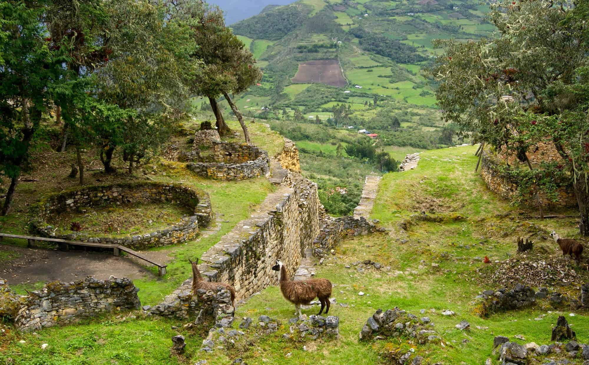 Binnenlandse vluchten naar Kuélap in Peru
