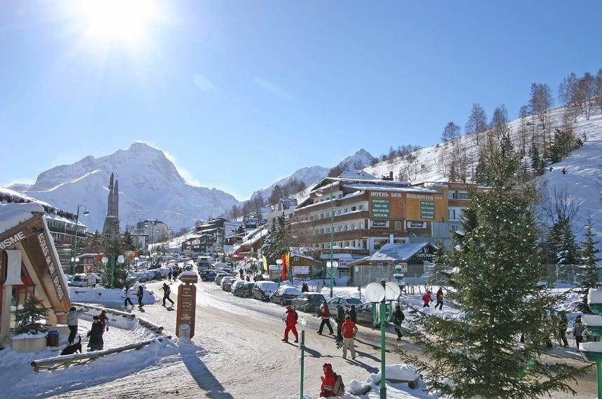 Les Deux Alpes in Frankrijk