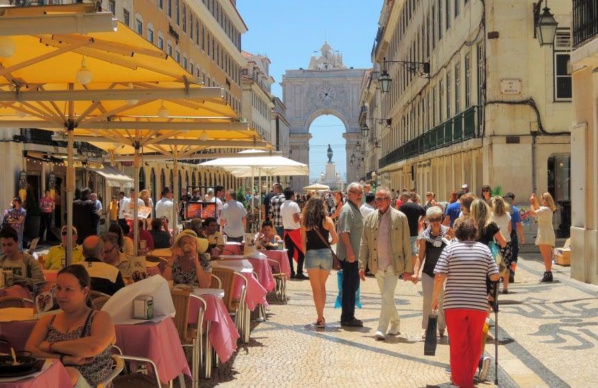 Lissabon is heerlijk 'gewoon'. Lekker slenteren...