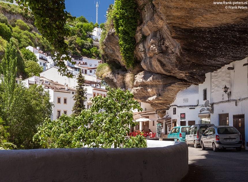 Grotwoningen, Setenil, Andalusie, Spanje