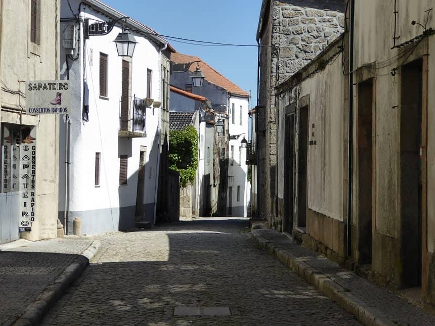 Straatbeeld Trancoso