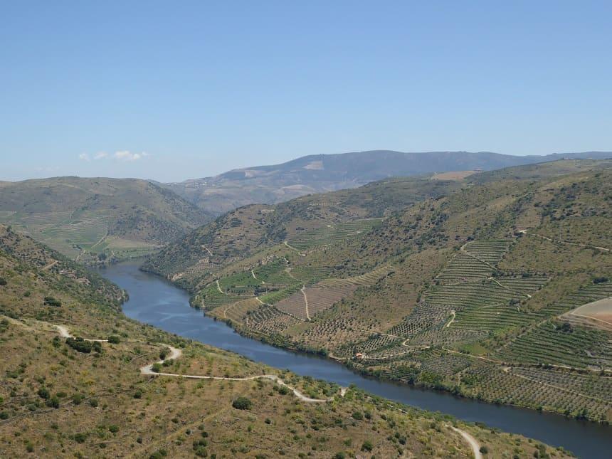 Rivier Douro, waar de Rio Côa een zijtak van is