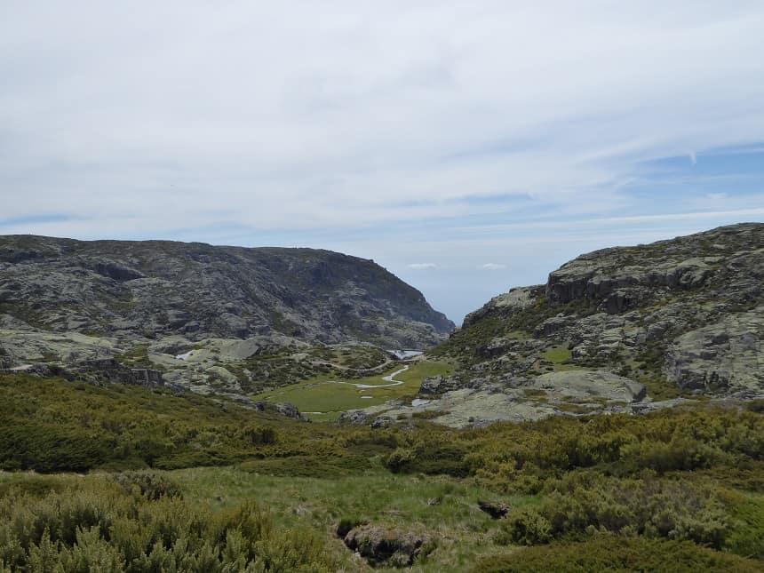 Prachtig groene valleien