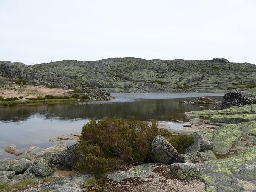 Een wandeling langs de vele lagunes op het hoge plateau is een ware aanrader